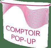 Comptoir popup