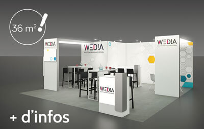 Stand connected 36m2