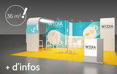 Stand corporate 36m2