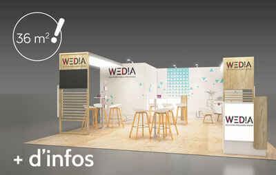 Stand cosy 36m2