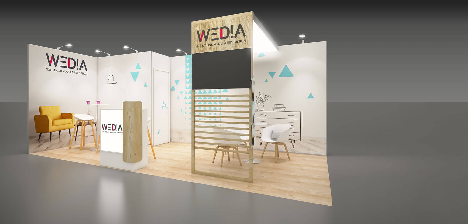 Stand Wedia cosy 18m2
