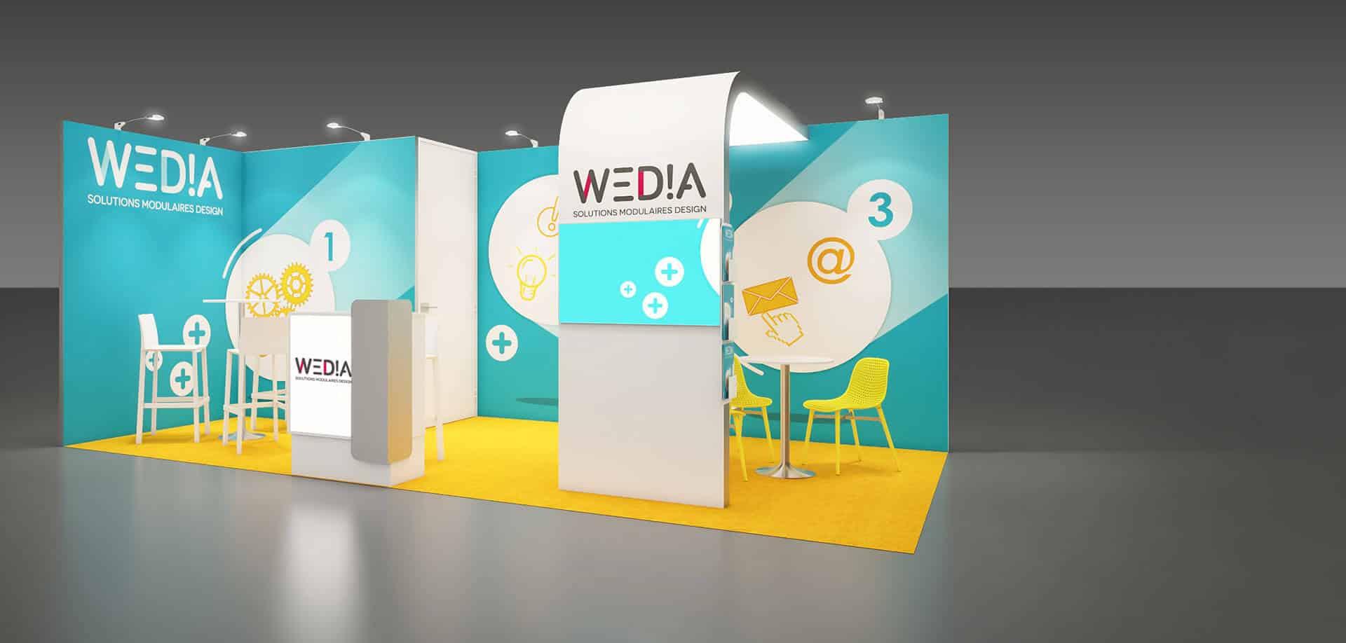 Wedia corporate 18m2
