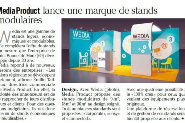Article écrit par Intermédia pour aborder les solutions modulaires design proposées par Media Product